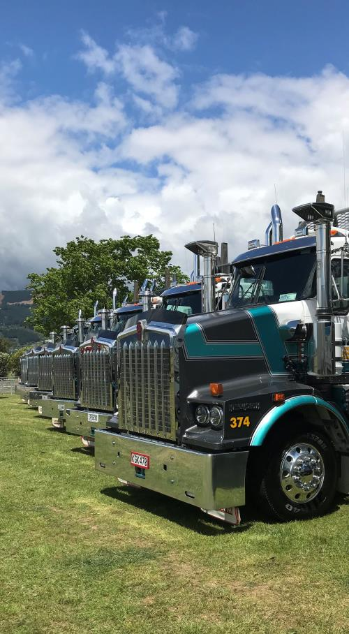 Log Truck Driver in sunny Nelson NEW ZEALAND