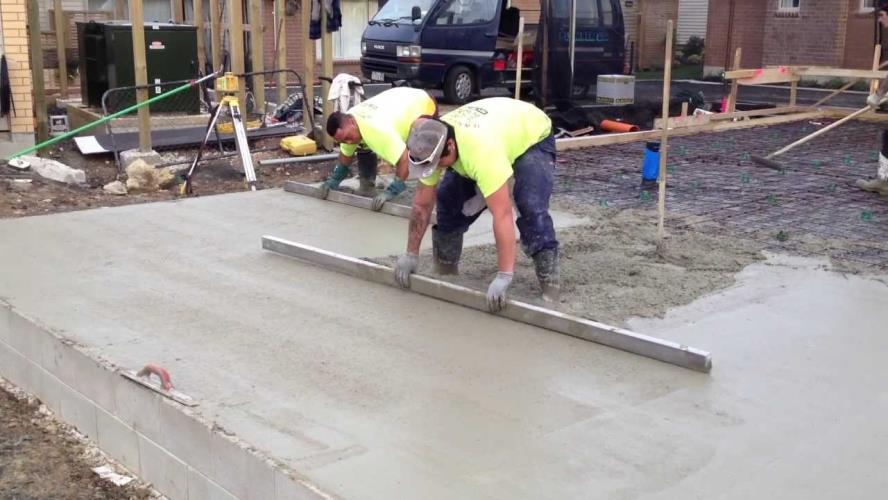 Concrete Finisher/Screeter