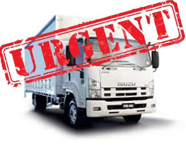 URGENT  MR Driver needed NOW D/G (Dangerous Goods) ticket a must