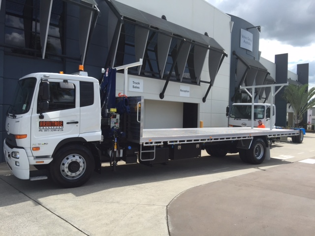 Crane Truck Drivers - MR/HR with CV Licence