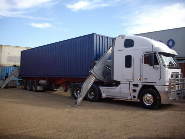 Experienced HC MSIC container driver required