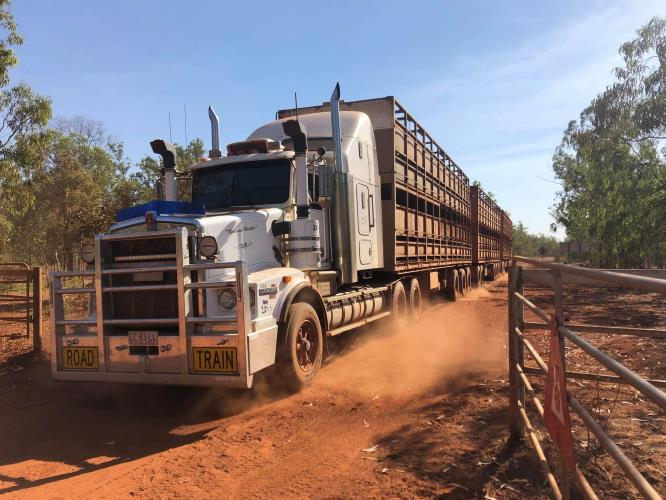 MC Road Train Driver based out of Katherine N.T.