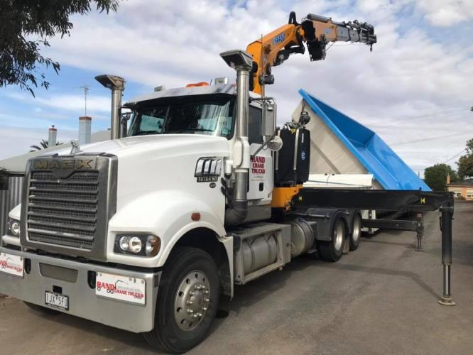 Semi Crane Truck Driver required