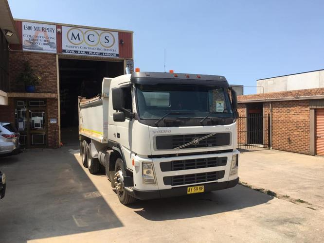 MCS Civil Require Experienced Operators and HR Truck Drivers