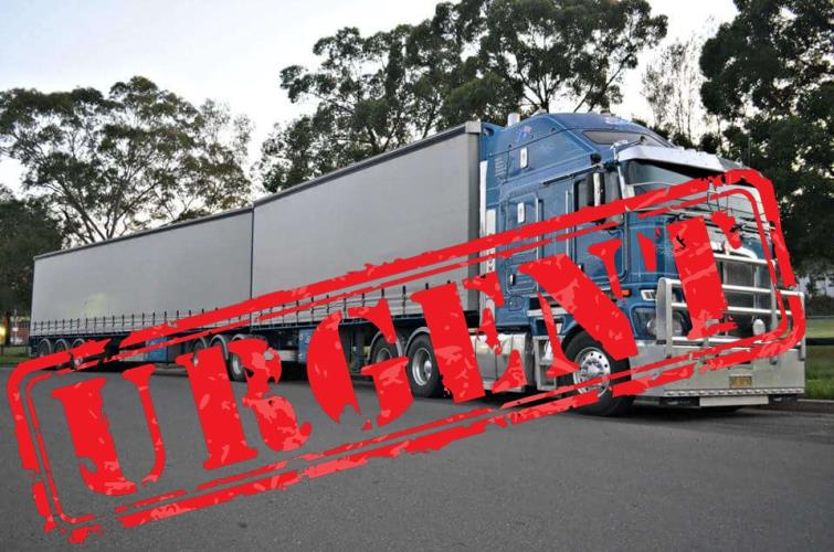 URGENT Experienced MC driver Requited today MIDNIGHT  Albury NSW