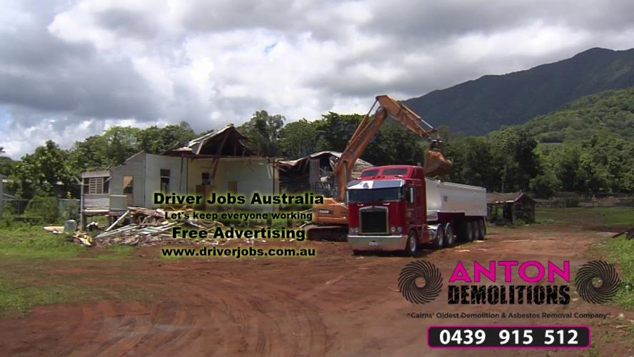 DEMOLITION LABOURER / TRUCK DRIVER REQUIRED