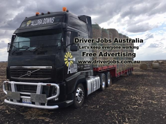 MC driver for carting hay & machinery
