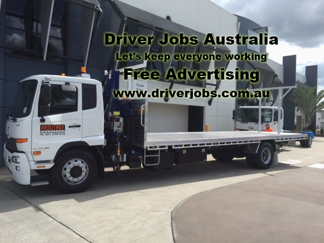 HR & MR Crane Truck Drivers - Southside