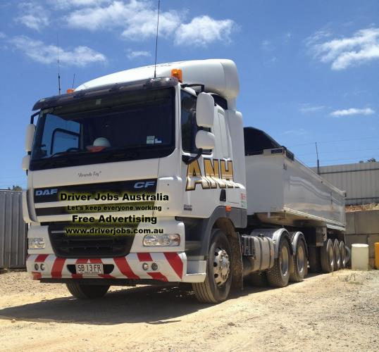 2 x Truck Driver Positions Available (Semi Water Tanker)