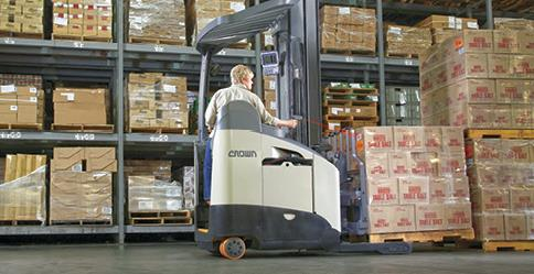 High Forklift/ Stores Person