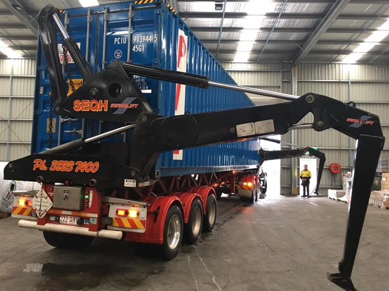 DAY&NIGHT Side Loader drivers required - 10-12 hour shifts with SEQH