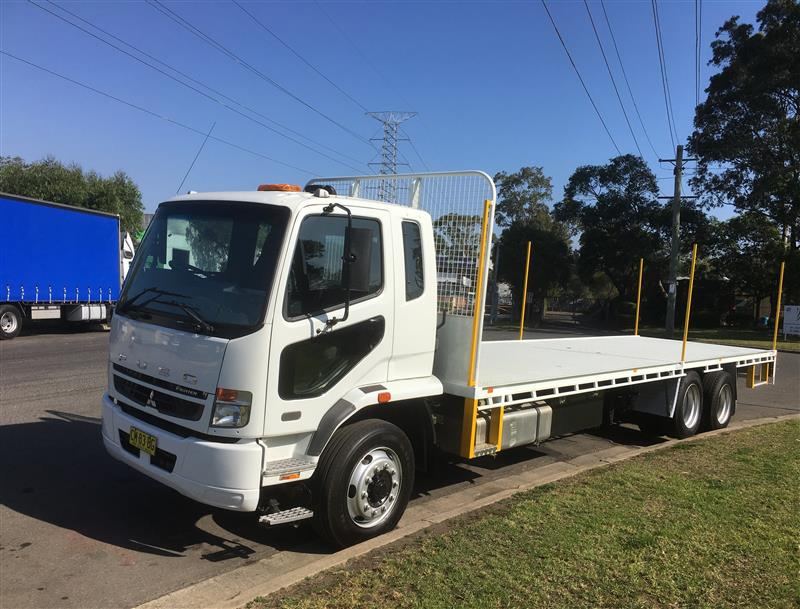 HR 12 tonne flat top driver (Scaftrans Pty Ltd)