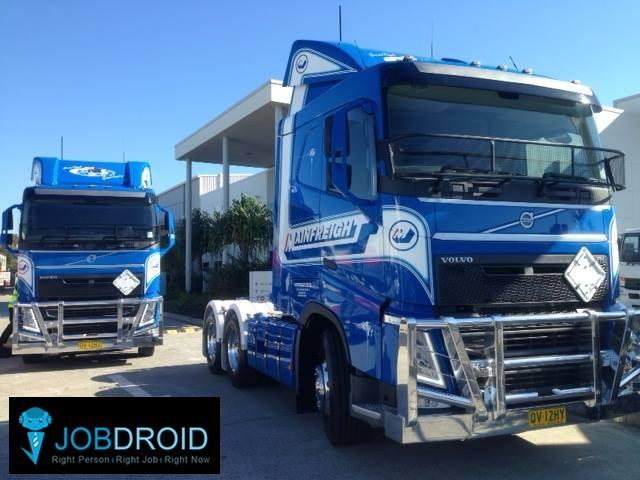 Brisbane to Melbourne  Bdouble Shuttle Driver