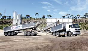 Truck Driver For Concrete Plant Deliveries Of Raw Materials For Day & Night