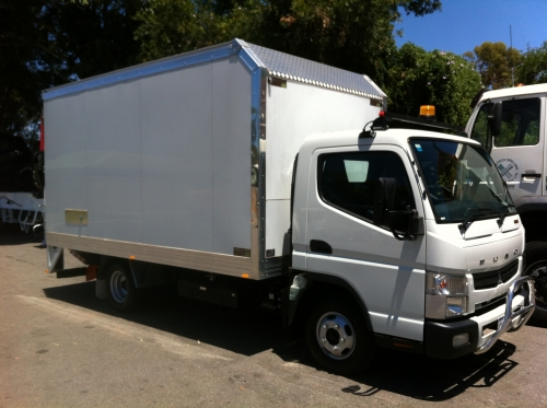Nudie Juice Delivery - Small truck  - Car Licence Starts Monday
