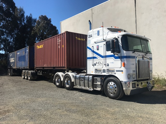 HC/MC Truck Driver Sideloader MSIC Containers