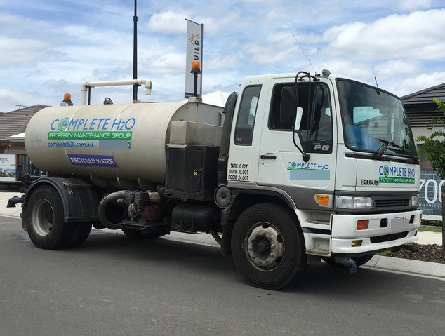 Water truck driver
