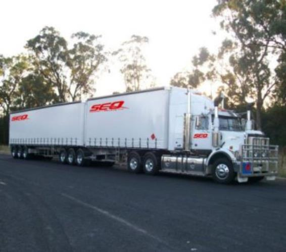 Road Train Two Up Team