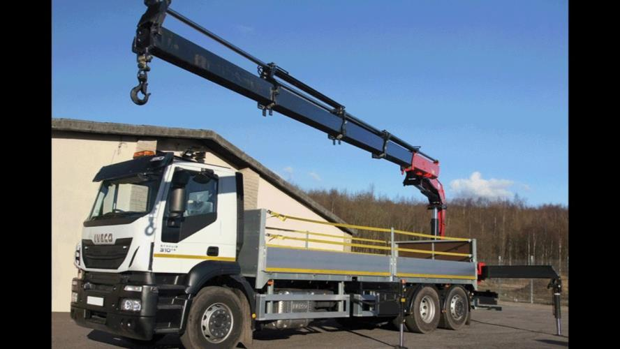 HR Driver with Hiab Crane Experience $28.45