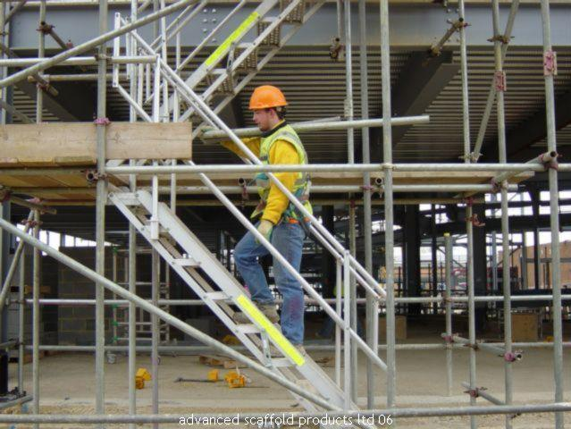 Advanced Scaffolder - Construction Worker