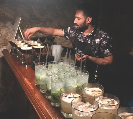 Casual Cocktail Bartender