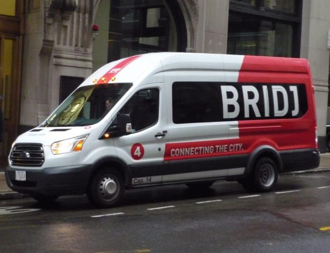 BRIDJ On Demand Transport Drivers