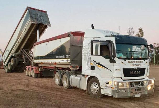 INTERSTATE MC BDOUBLE TIPPER DRIVER