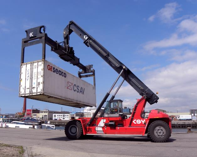 Reach Stacker Driver Needed BOTANY