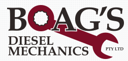 Boags Diesel mechanics