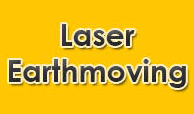 Laser earthmoving