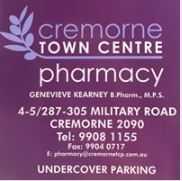 CREMORNE TOWN CENTRE PHARMACY